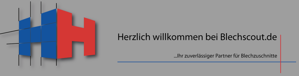 Blechscout - Blechzuschnitte wie Sie es wünschen-Logo
